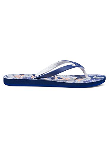 Roxy Women's Tahiti Sandals Flip Flop, Navy, 8 M US