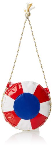 [Rasta Imposta Life Preserver Purse, Red, One Size] (Life Preserver Sailor Purse)