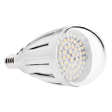 Led Bulbs - E14 4W 60X3528 Smd 300-320Lm 3000-3500K Warm White Light Led Ball Bulb (110V/220V) ( Voltage : 220V )