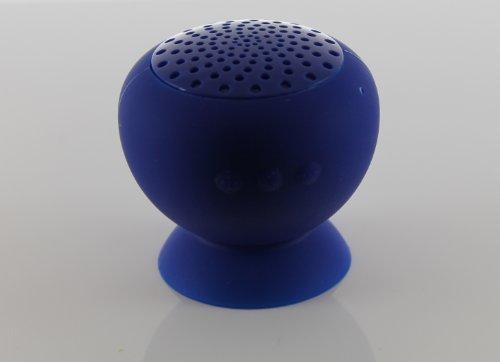 T-Bird Waterproof Bluetooth Speaker Hands Free, Hi-Fi Full Rangs Speaker For Ipad,Iphone, Smart Phone, Tablet (Dark Blue)