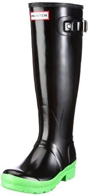 Hunter Women's Original Neon Neon Green Wellington Boot W24512 9 UK