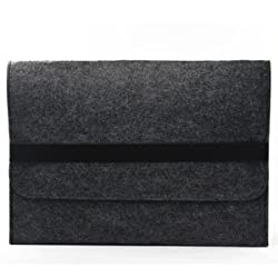 Case Star Grey with Black stripe Carpet Laptop Notebook Sleeve Cover Case for Macbook AIR 13 13.3 and other Laptop Brand-HP Dell Toshiba ASUS Sony Lenovo Samsung (Carpet Laptop Sleeve-Gray for 13 inch)