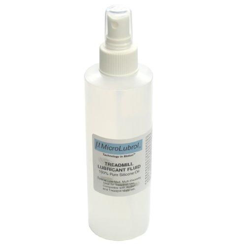 MicroLubrol Treadmill Lubricant Fluid Pure 100% Silicone Oil Multi-Viscosity 8 fl. oz, 236mL (Slip Stream Grease compare prices)