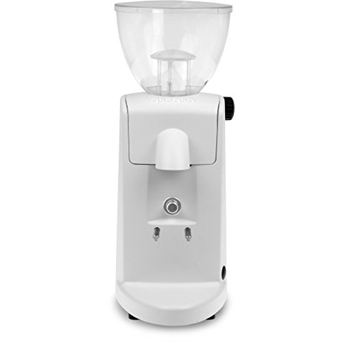 Ascaso I-Mini Espresso Grinder - Cloud White, Conical Burr, Doserless, Abs Plastic, 110 Volts front-572187