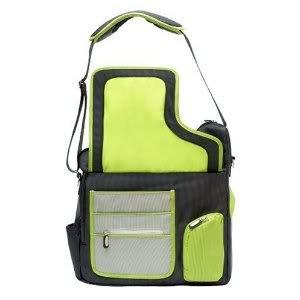 Useful Nylon JJ Cole System Diaper Bag (Changing pad, tote and Pacifier included) - Green Stitch Nourrisson, Bébé, Enfant, Petit, Tout-Petits