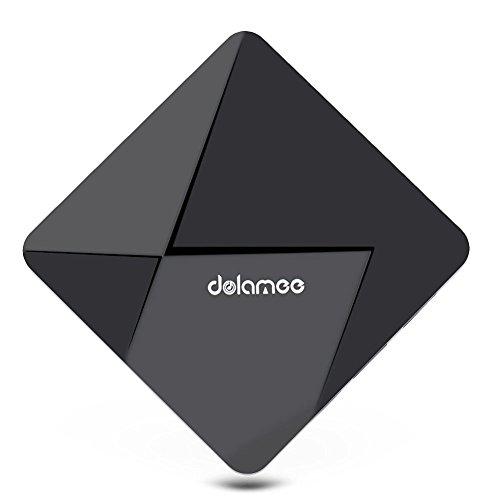 QcoQce D5 Smart TV Box Android 5.1 OS RK3229 Quad Core 1GB DDR2 8GB EMMC KODI 4k 2.4G WIFI Streaming Media Player