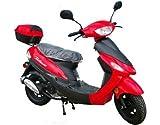 50cc Gas Street Legal Scooter TaoTao ATM50-A1 - Red
