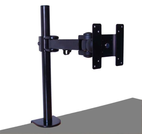Vertical TFT Monitor/TV Desk Arm Clamp by Cable Mountain