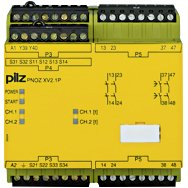 777544 Pilz - PNOZ XV2.1P 3/24-240VACDC 2n/o 2n/o t - Safety relay PNOZ X - Time monitoring