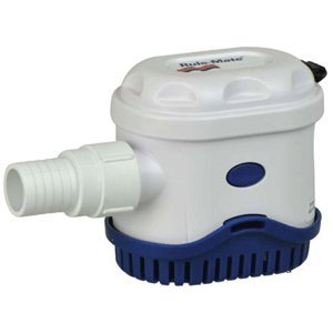 RULE MATE 750 GPH SQUARE BILGE PUMP 3/4 OUTLET 12V RULE MATE 750 GPH SQUARE BILGE PUMP 3/4 OUTLET