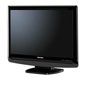 Toshiba 19LV505 19-Inch 720p LCD HDTV with Built-in DVD Player, Black