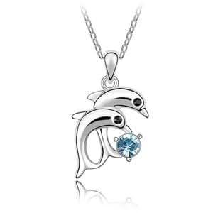 Amazon.com - Parati(TM) Fashion Jewelry Austrian Crystal Dolphin Charm