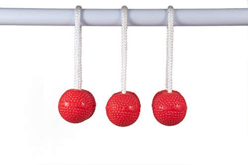 Ladderball Soft Bola Set, Red
