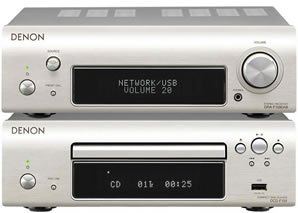 Denon DF109DAB Micro HiFi System Silver Black Friday & Cyber Monday 2014