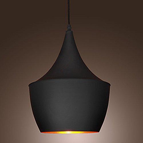 Ciondolo luce retrò Vintage Tom Dixon Design nero