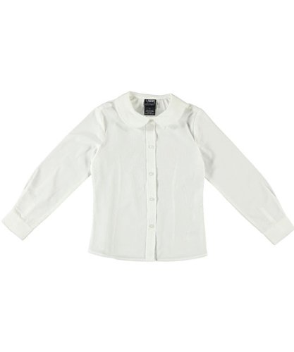 French Toast L/S Peter Pan Blouse (Sizes 2T-4T)