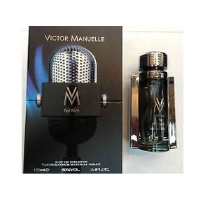 VM For Him Profumo Uomo di Victor Manuelle - 100 ml Eau de Toilette Spray