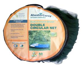 Enjoy long lasting, odorless insect protection while outdoors & store away in provided carry bag.