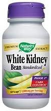 White Kidney Bean Standardized 1000mg 60 VegiCaps