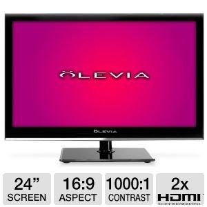 "Olevia 24"" Class LED HDTV"