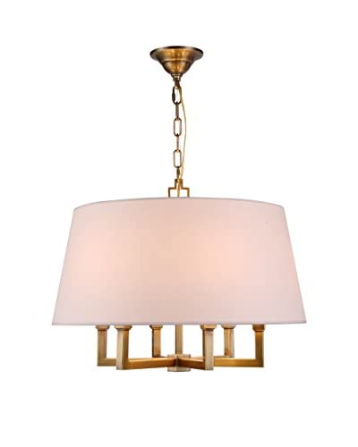 Urban Lights Hamilton 8-Light Chandelier, Antique Bronze