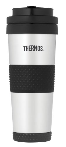Thermos 18 Ounce Vacuum Insulated Stainless Steel Tumbler, Stainless Steel (Nissan Mug compare prices)