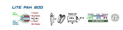 High Peak Schlafsack Lite Pak 800,links / rechts (sortiert)