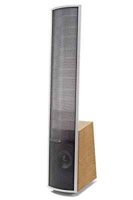 MartinLogan Vista High-Performance Electrostatic Speaker (Single, Natural Cherry/Clear Aluminum) from MartinLogan
