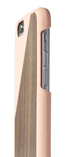 Native Union Soft Touch Clic Wooden Case für Apple iPhone 6 Plus blüte/walnut
