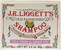 Tea Tree & Hemp Oil Bar Shampoo 3.5 Oz By J.R. Liggett'S front-654449