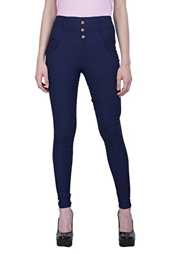 Rampwalk-Womens-Navy-Jeggings