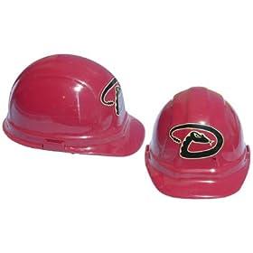 Arizona Diamonbacks - MLB Team Logo Hard Hat Helmet by Tasco