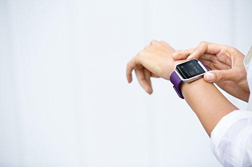 Plum Fitbit Blaze Smart Fitness Watch
