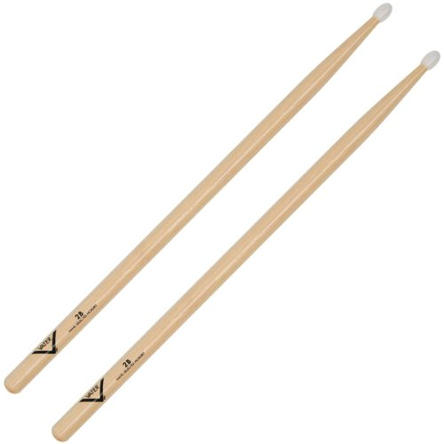 Vater Percussion 2B Drumsticks, Nylon Tip
