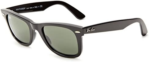 Ray-Ban Men's Wayfarer Wayfarer Sunglasses, Black