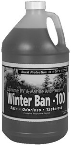 WINTER BAN minus 100 Non-Toxic Antifreeze, gallon, Pack of 6