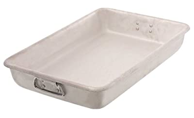 Browne Foodservice A12183 12 by 18-Inch Aluminum Roast Pan, Large