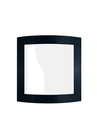 SEGNO Lámpara De Pared LED Conca Negro