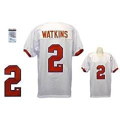 Sammy Watkins Signed Jersey - White Witness - JSA Certified - Autographed College...