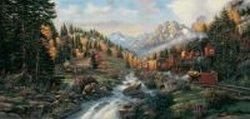 Cheap SunsOut Derk Hansen Autumn Run 1000pc Jigsaw Puzzle (B001RTXZOQ)
