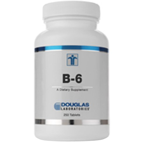 Douglas Labs - La vitamine B-6 100 mg 100 tabs