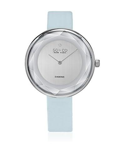 SO & CO New York Reloj con movimiento cuarzo japonés  Cielo 38 mm