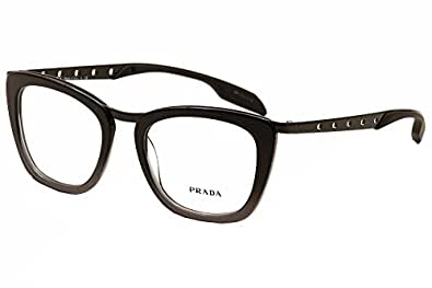 Prada Glasses Frames Vision Express : Amazon.com: Prada Eyeglasses PR60RV TV71O1 Black Gradient ...