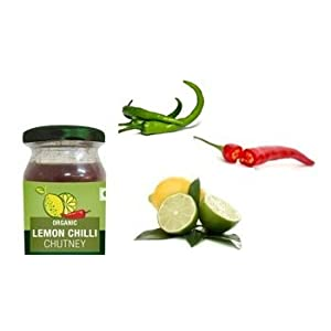 ORGANIC LEMON CHILLI CHUTNEY 20G