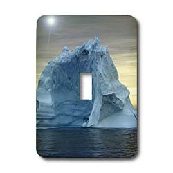 Kike Calvo Arctic - Icebergs from Greenland, drifting on Iceberg Alley Baffin Bay Baffin Island High Arctic Canada - Light Switch Covers - single toggle switch