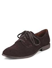 Indigo Collection Suede Lace Up Shoes with Insolia Flex®