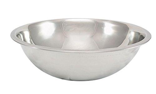 TableCraft H825BH Heavy Weight Mixing Bowl, 3 quart, Silver (Tablecraft Mixing Bowl compare prices)