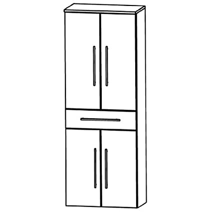 Kera Puris Trends (HNA056A7M Bathroom High Cabinet 60 CM