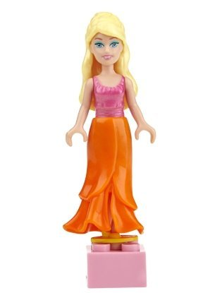 Mega Bloks Barbie - Tropical Barbie - 1