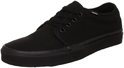 Vans U 106 Vulcanized, Baskets mode mixte adulte - Noir (Black) 44 EU , 9.5 UK , 10.5 US